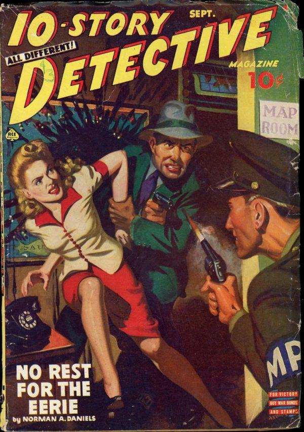 10-STORY DETECTIVE. September 1943