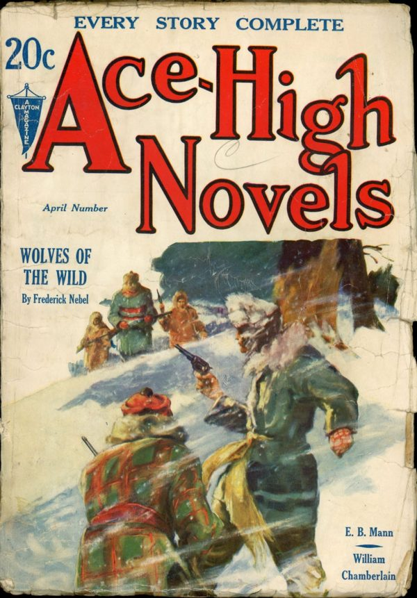Ace-High Novels April, 1932