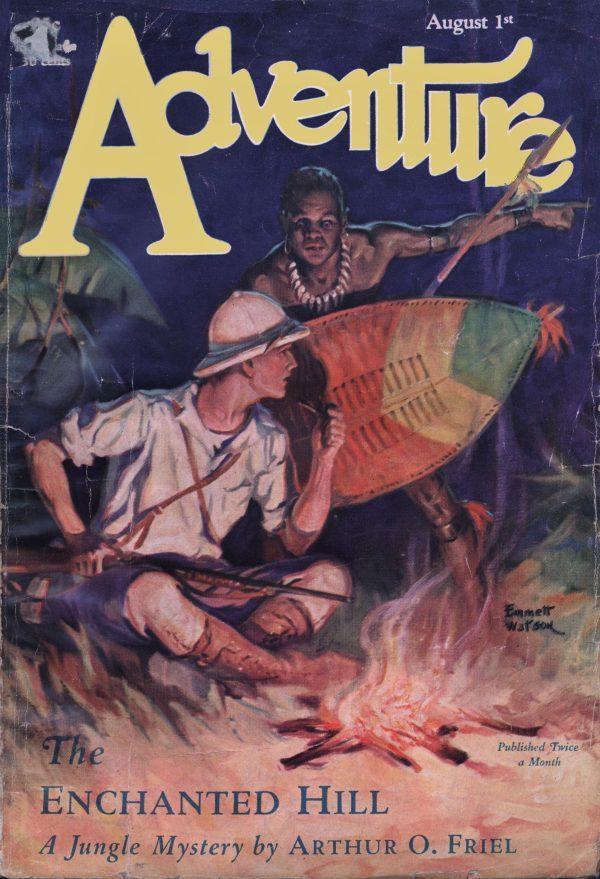 Adventure August 1, 1929