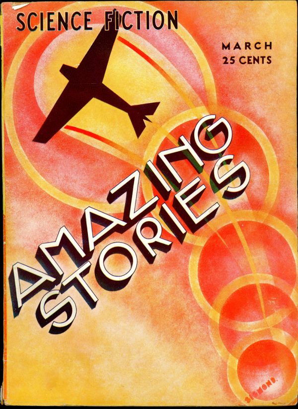 Amazing Stories, March 1933
