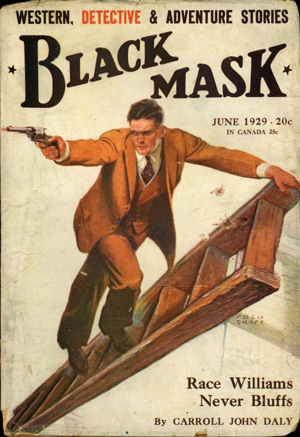 BLACK MASK. June, 1929