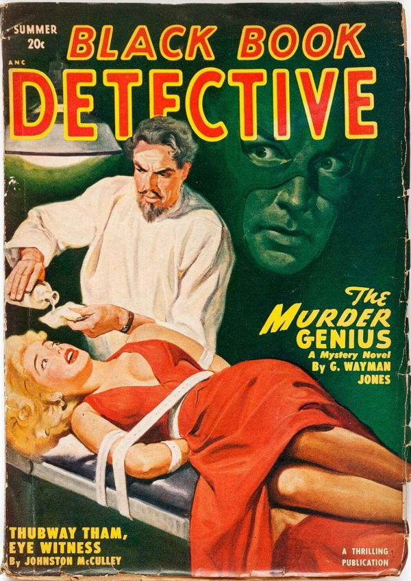 Black Book Detective Summer 1950