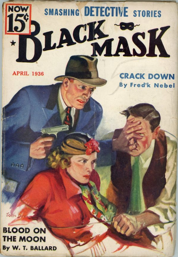Black Mask April, 1936