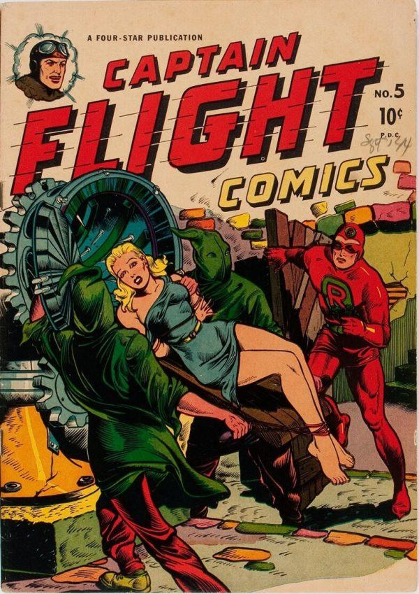 Captain Flight Issue #5 1945