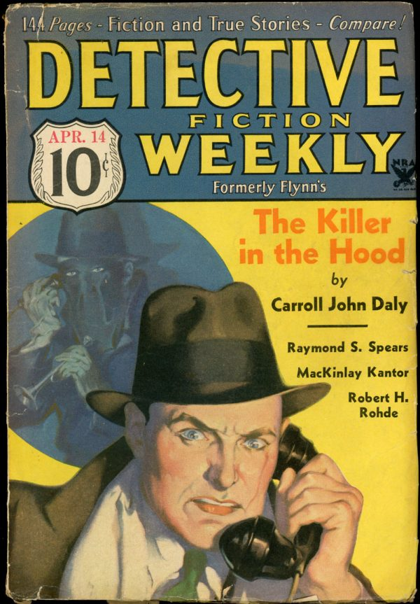 DETECTIVE FICTION WEEKLY. April 14, 1934