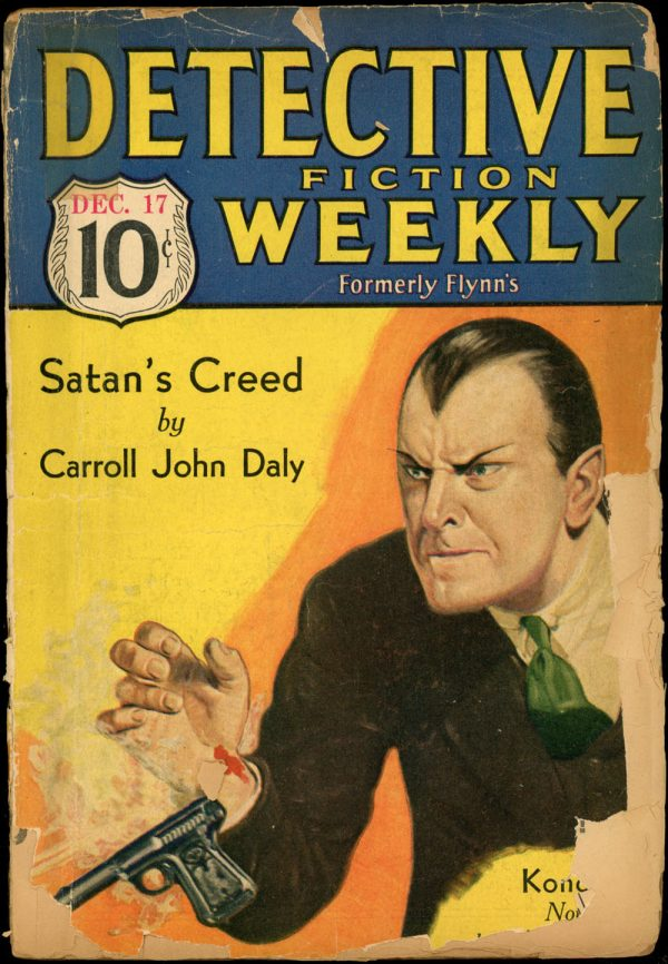 DETECTIVE FICTION WEEKLY. December 17, 1932