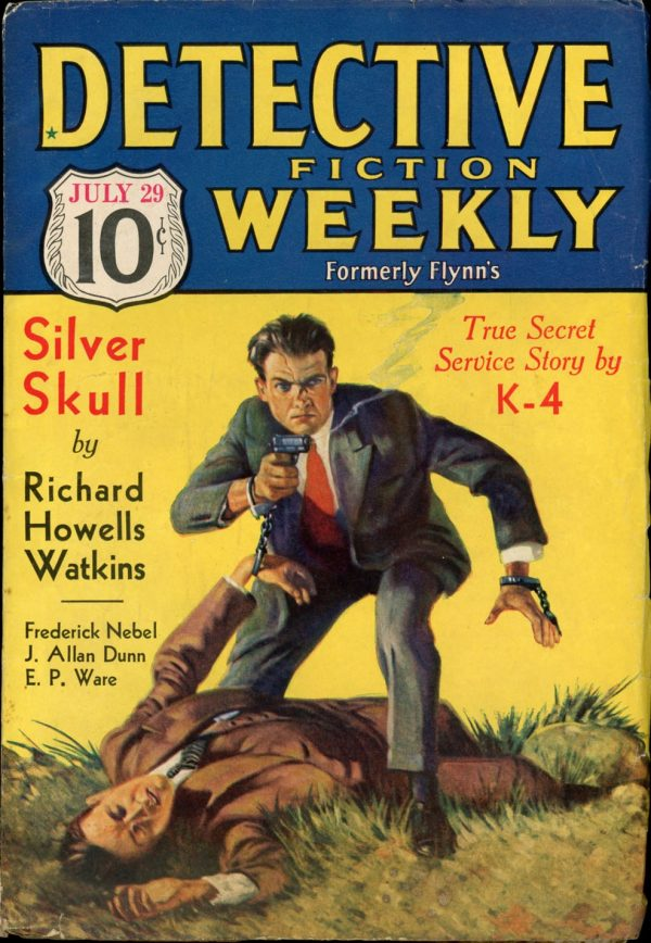 DETECTIVE FICTION WEEKLY. July 29, 1933
