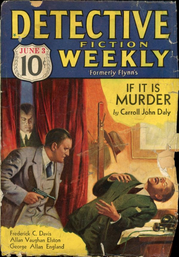 DETECTIVE FICTION WEEKLY. June 3, 1933
