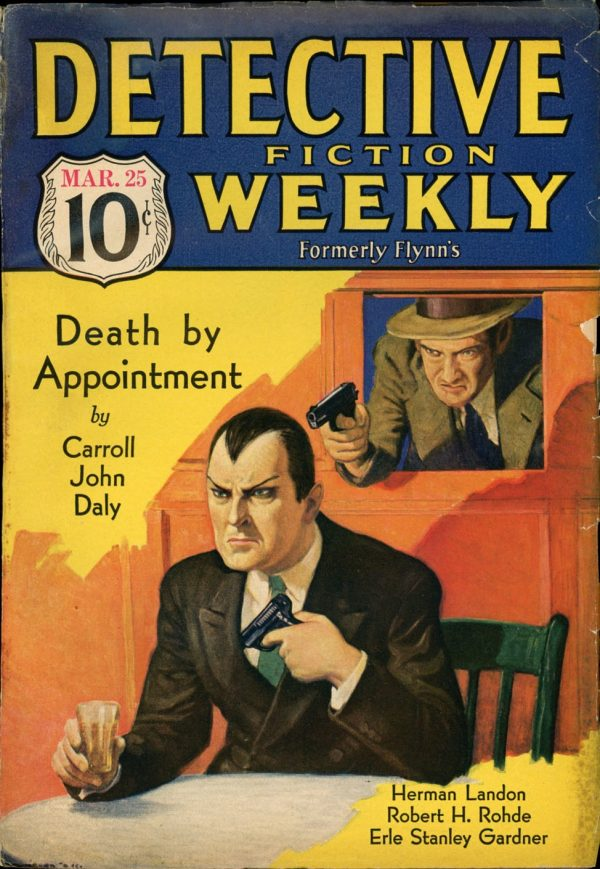 DETECTIVE FICTION WEEKLY. March 25, 1933