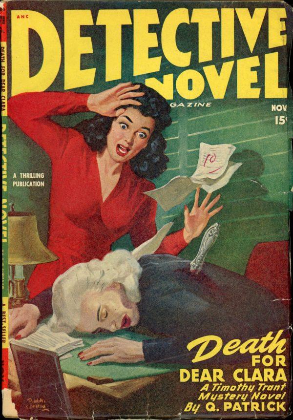 DETECTIVE NOVEL MAGAZINE. November, 1947