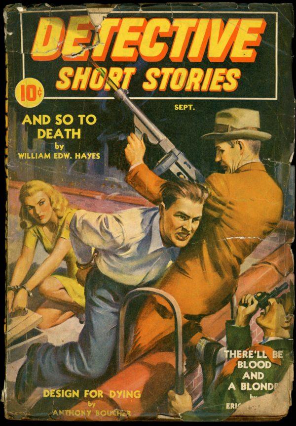 DETECTIVE SHORT STORIES. September 1941