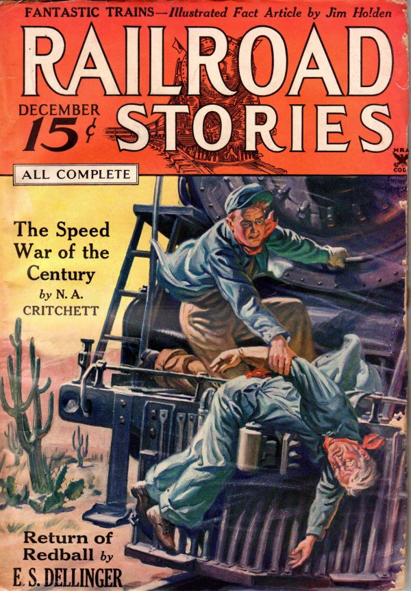 December 1934 Railroad Stories