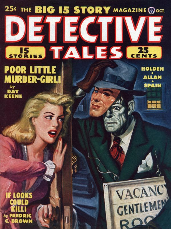 Detective Tales Magazine October 1948