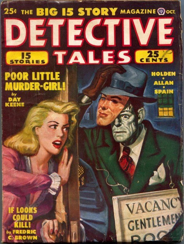 Detective Tales October 1948