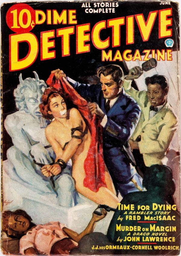 Dime Detective Magazine - June 1937