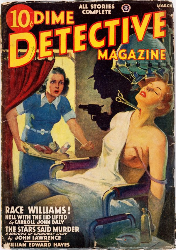 Dime Detective Magazine - March 1939