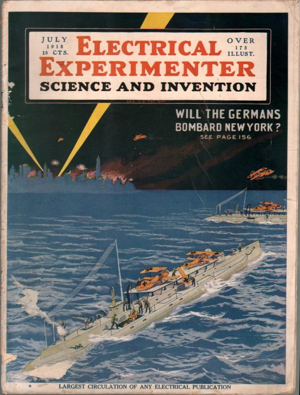 Electrical Experimenter July 1918