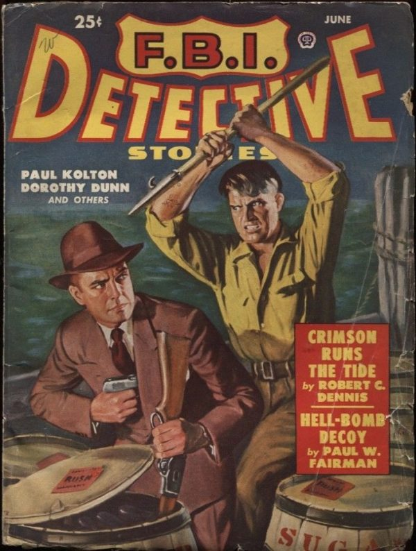 F. B. I. Detective Stories. 1950 June