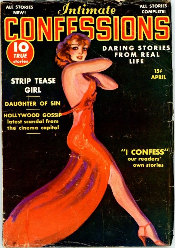Intimate Confessions, April 1938