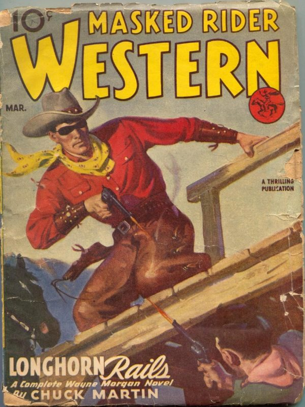 Masked Rider Western March 1946