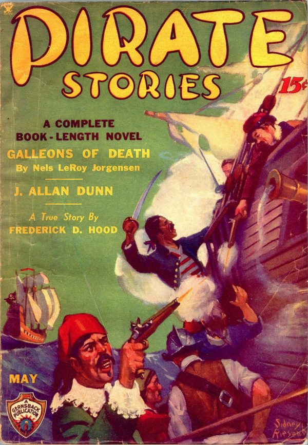 PIRATES STORIES. May, 1935