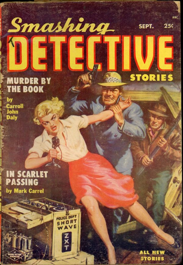 SMASHING DETECTIVE STORIES. September 1954