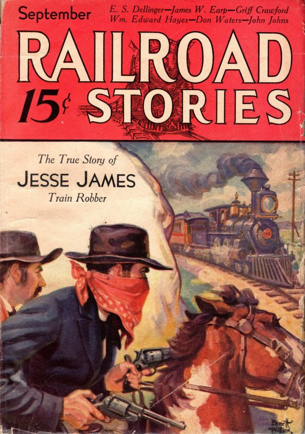 September 1932 Railroad Stories