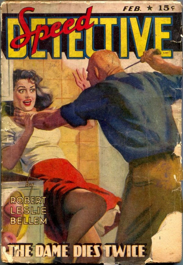 Speed Detective Issue #2 February 1943