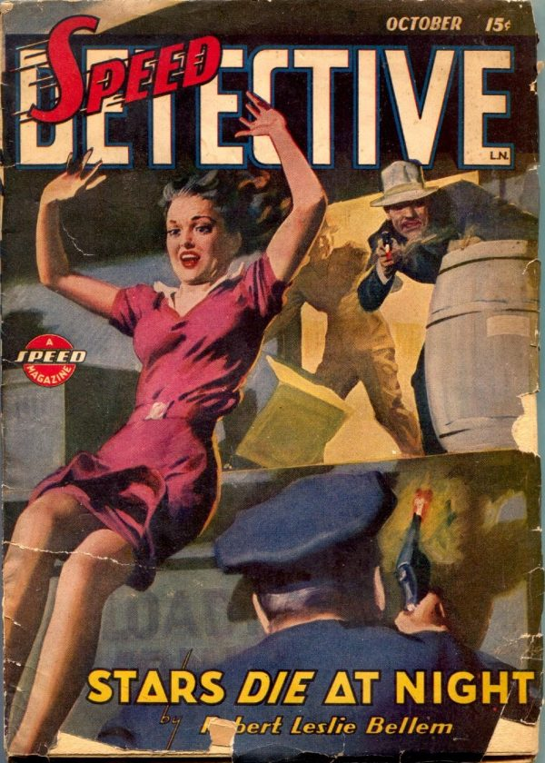Speed Detective October 1944