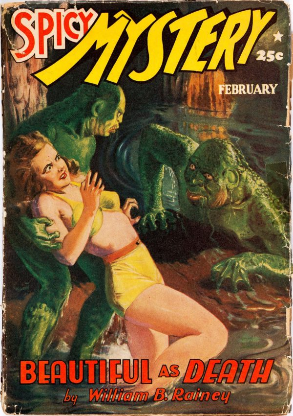 Spicy Mystery Stories - February 1941