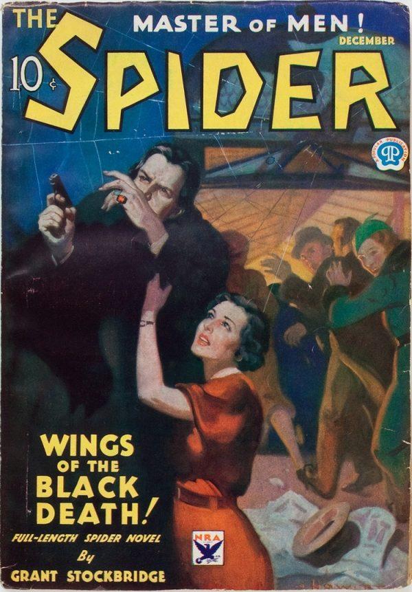 Spider, The. 1933 December #3