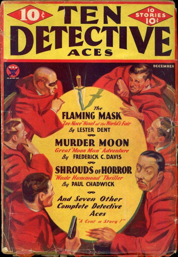 TEN DETECTIVE ACES. December 1933