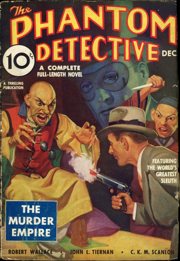 THE PHANTOM DETECTIVE. December 1935