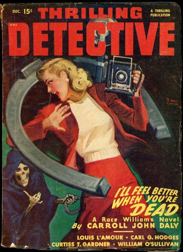 THRILLING DETECTIVE. December, 1947