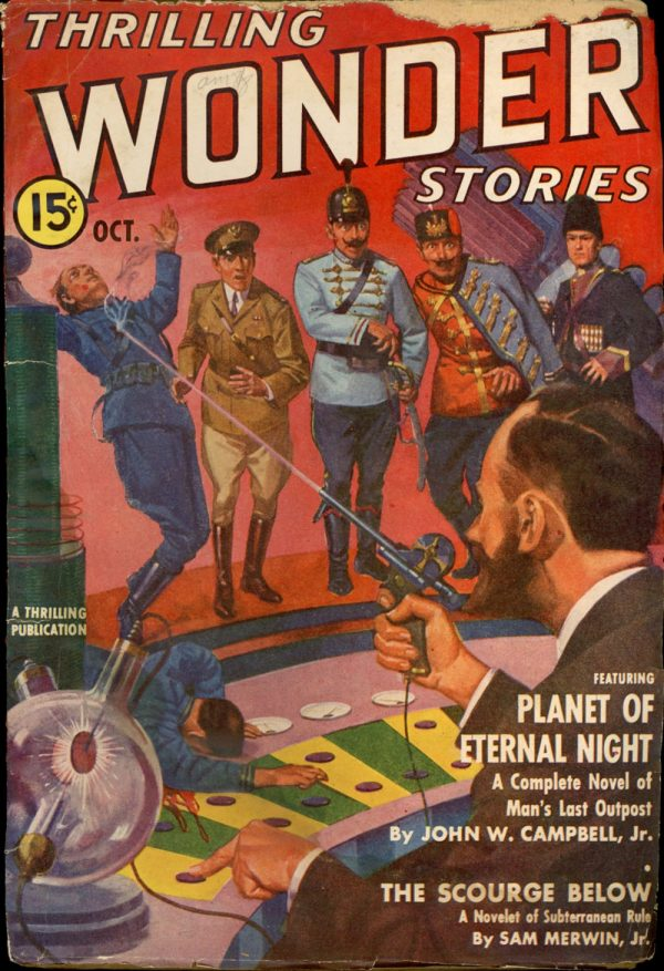 THRILLING WONDER STORIES. October 1939