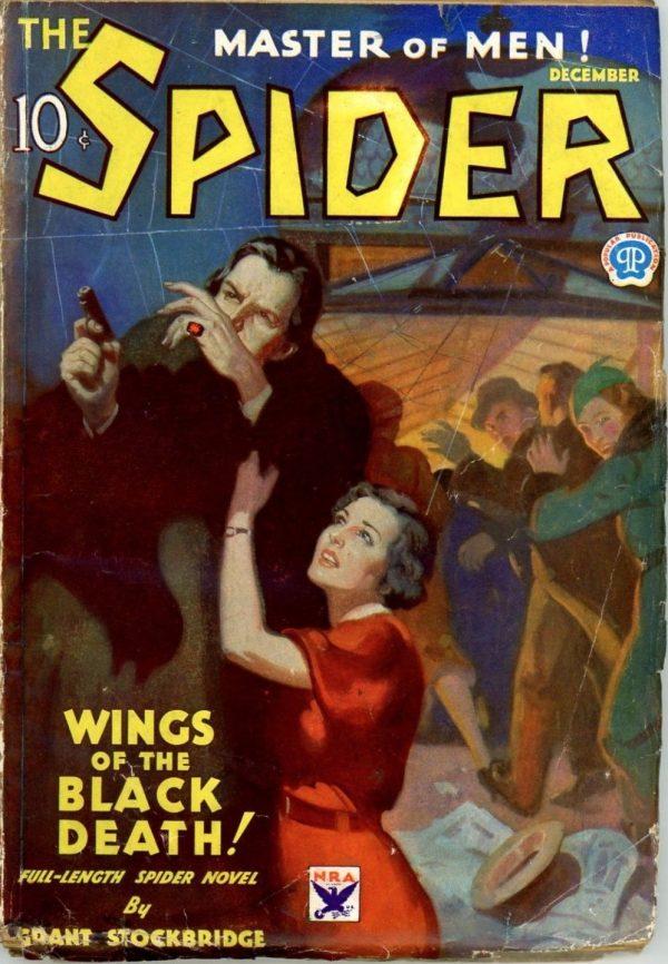 The Spider, December 1933