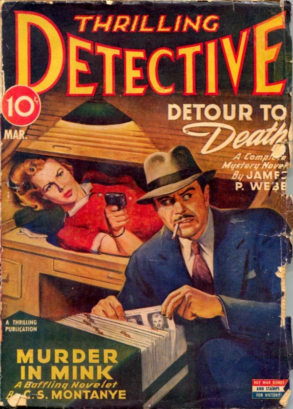Thrilling Detective March 1944