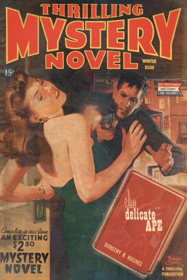 Thrilling Mystery Novel Magazine Winter 1945