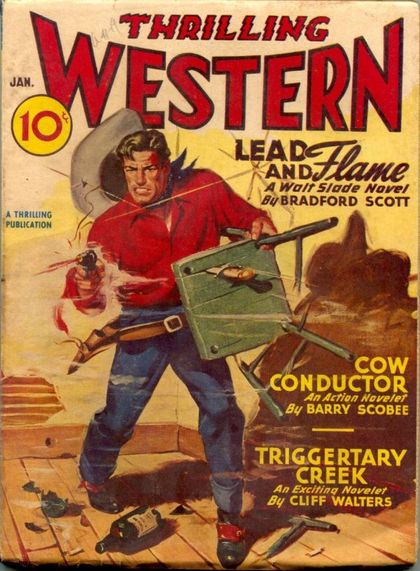 Thrilling Western January 1947