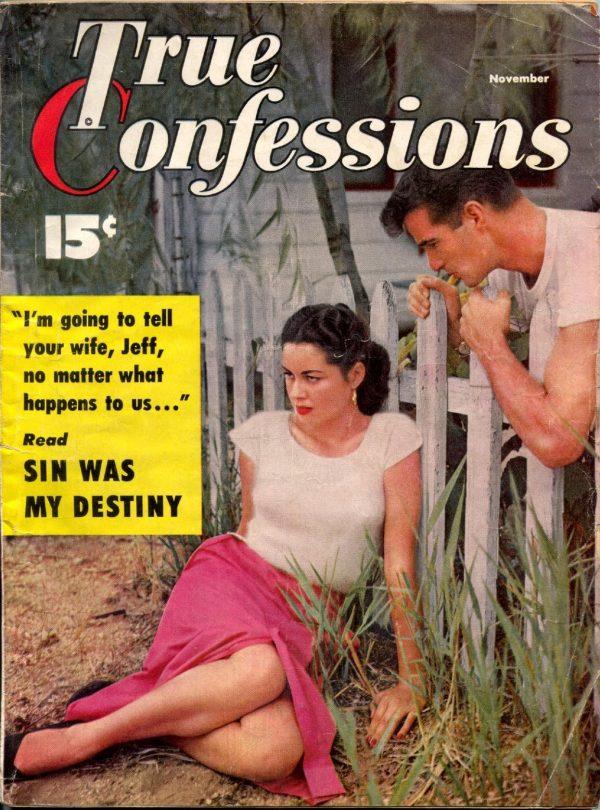 True Confessions November 1953