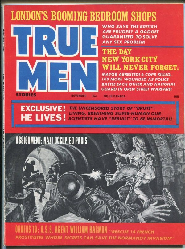 True Men, November 1965