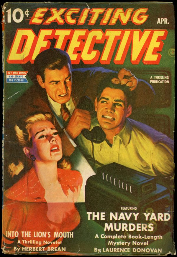 1943 EXCITING DETECTIVE. April