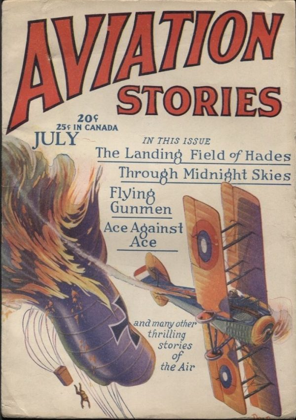 Aviation Stories 1929 July
