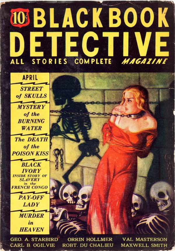 Black Book Detective - April 1935