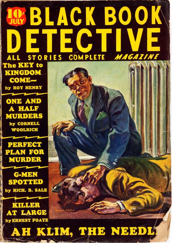 Black Book Detective - July 1936