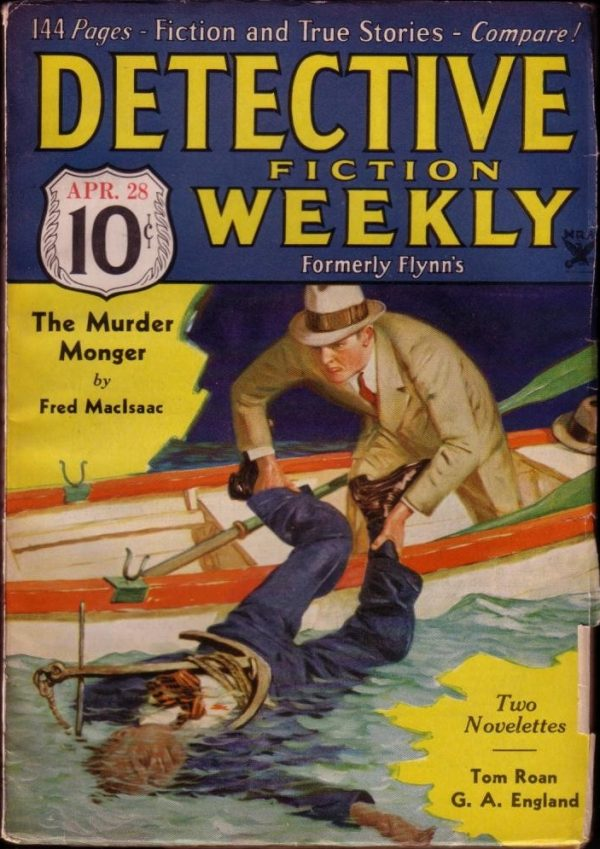 Detective Fiction Weekly April 1934