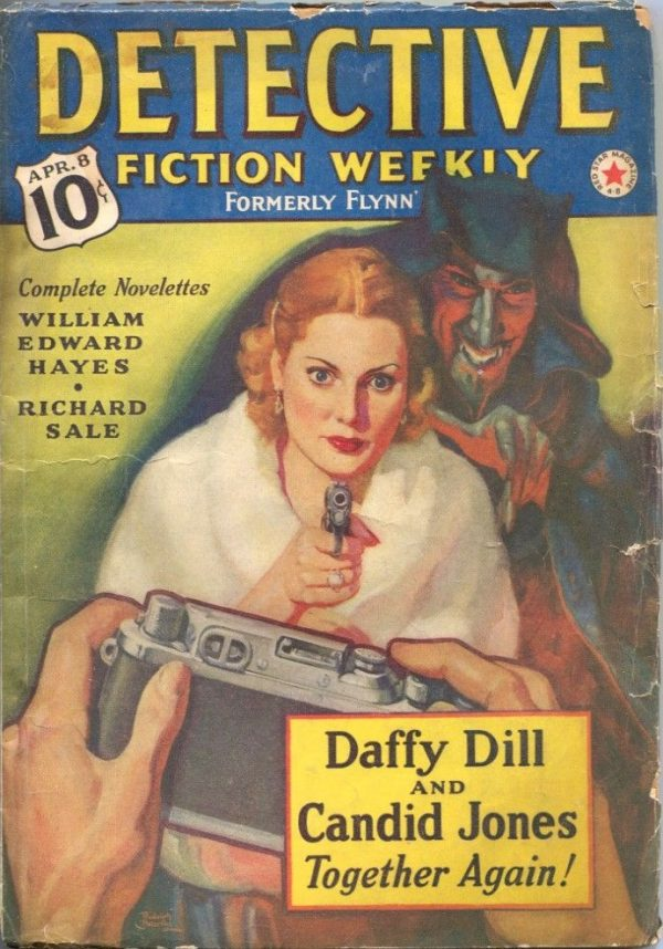 Detective Fiction Weekly April 8th 1939