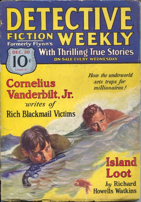 Detective Fiction Weekly December 20 1930