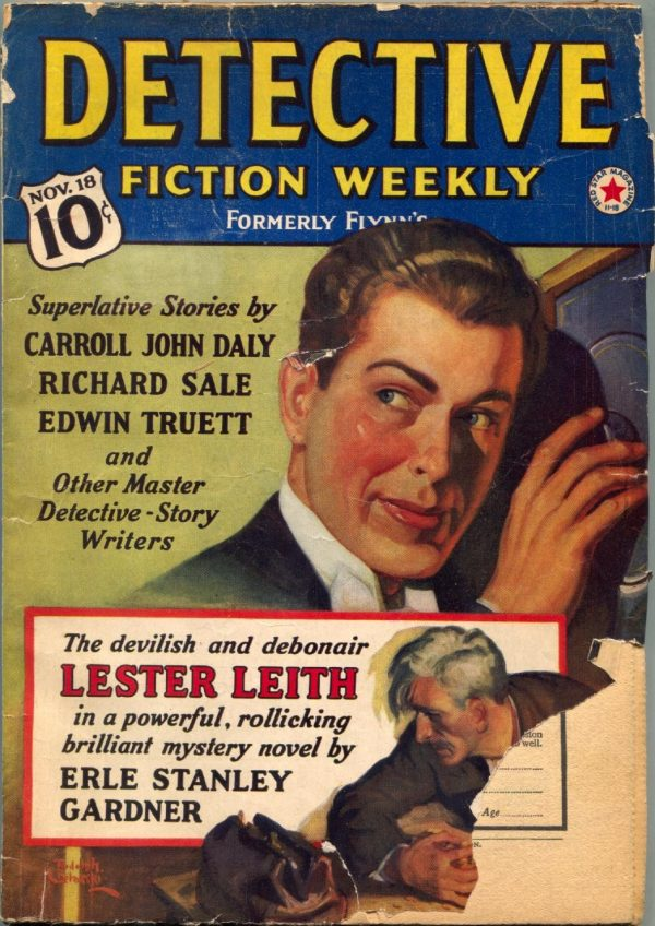 Detective Fiction Weekly November 18 1939