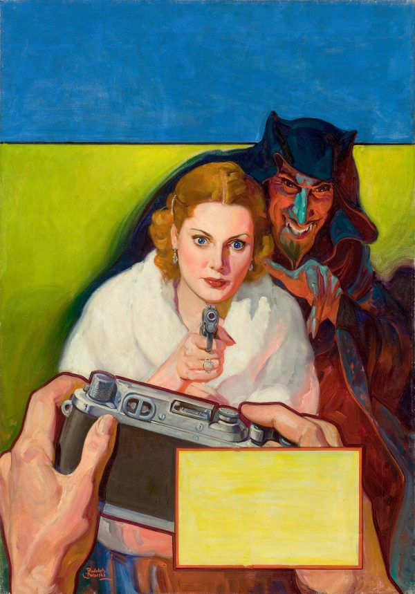 Detective Fiction Weekly pulp cover, April 8, 1939